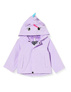 Regatta Kids' Unicorn Waterproof Jacket | Lilac