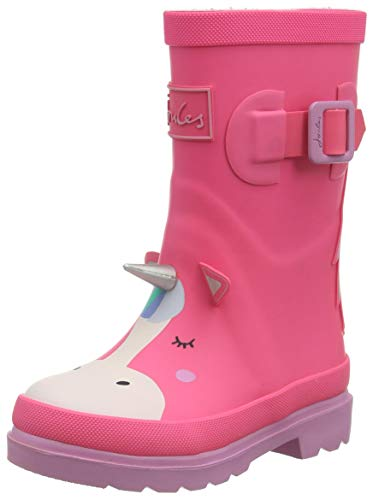 Baby Girls Welly Boot | Pink Unicorn | Joules