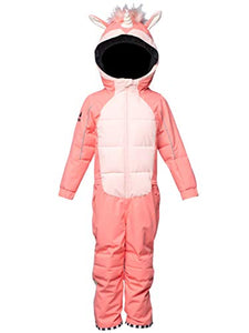 Unicorn Snowsuit Girls | Pink Children Sizes