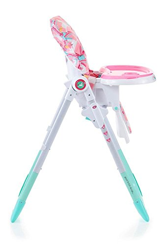 unicorn themed baby highchair for girls