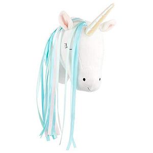 Sass & Belle Betty The Rainbow Unicorn Head Wall Decoration