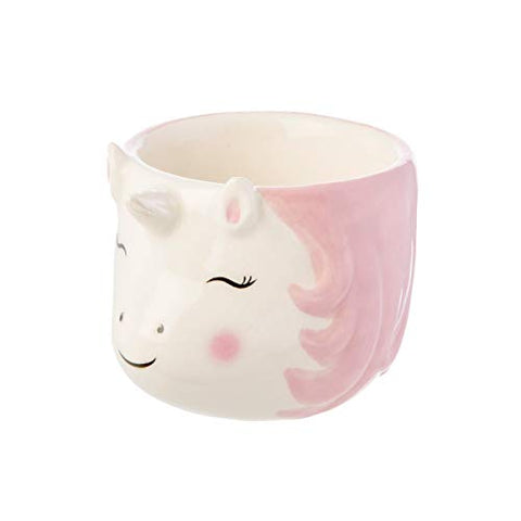 Sass & Belle Rainbow Unicorn Egg Cup | Pink