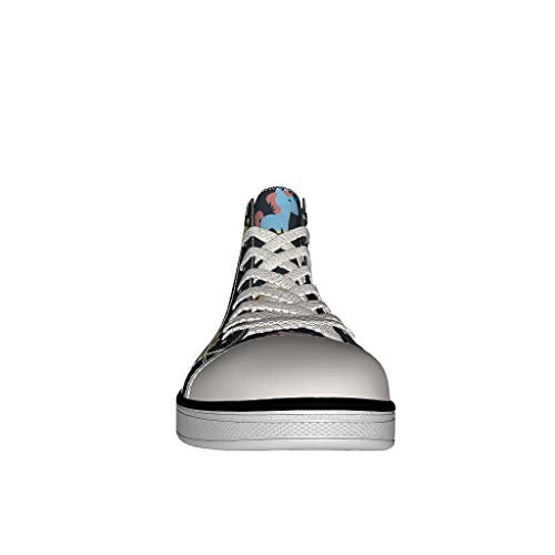 Black Unicorn Trainers Girls High Tops