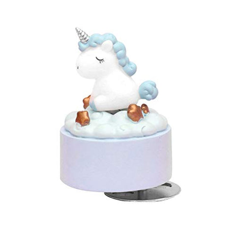 Unicorn Blue Jewellery Box