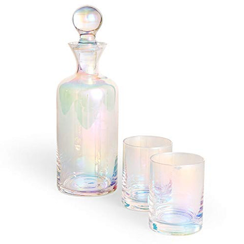 Rainbow Decanter Set