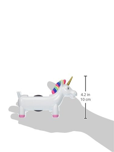 NPW Sticky Tape Dispenser Holder - White Unicorn Tape Dispenser