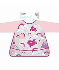 baby unicorn wipe clean bib