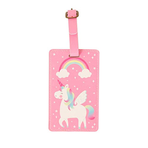 Sass & Belle Rainbow Unicorn Luggage Tag For Suitcases