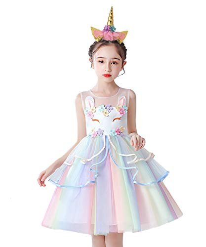 Cute unicorn special occasion dress