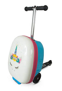 Unicorn suitcase scooter