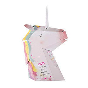 3D Unicorn Mother's Day Card | For Mum | Pop Up | Hallmark