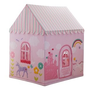 unicorn play house for kids pink