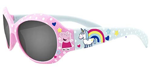 Children's Peppa Pig & Unicorn Pink Sunglasses - UV Rating
