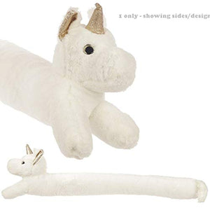 Puckator Unicorn Draught Excluder, White