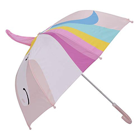 Pink Kids Umbrella Age 3- 7 Years