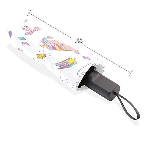 Compact Small Unicorn Umbrella