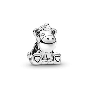 Pandora Women's Friends | Bruno The Unicorn Charm | Sterling Silver 797609
