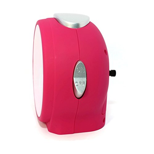 Pink unicorn bedside table alarm clock. Funky design perfect for kids bedroom