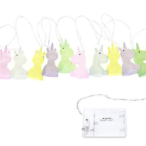 Navaris LED Unicorn Fairy Lights | String of Lights | Chain Of Lights | Children's