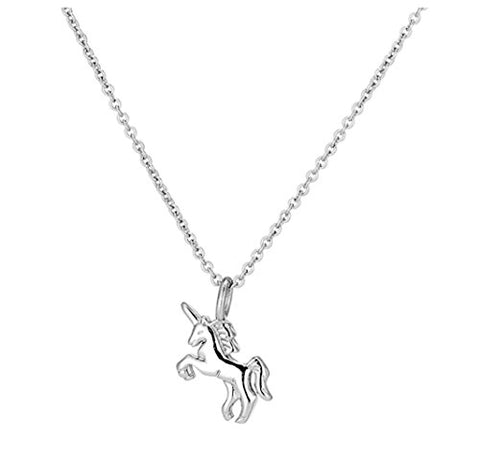 Sterling Silver Unicorn Pendant For Women, Girls | Gift Idea