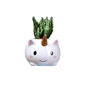 Unicorn Plant Pot Planter Gift And Home Decoration