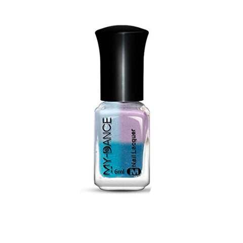 Variable thermal unicorn nail polish.