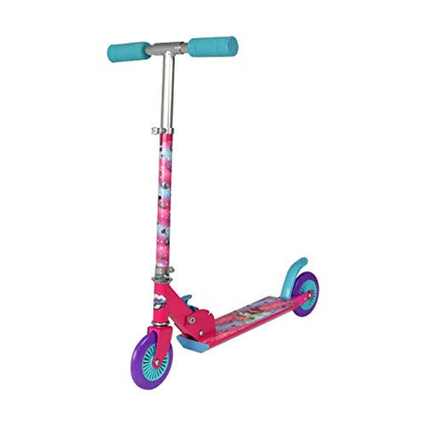 Unicorn inline scooter pink