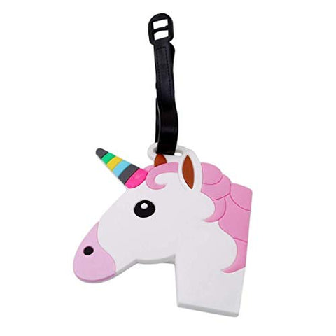 Cute Unicorn Luggage Tag | Suitcase