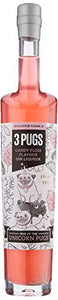 3 Pugs Rise of the Unicorn Pugs | Candy Floss Gin | 50 cl | Gin Gift
