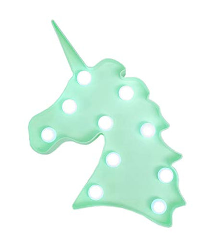 Mint Green Unicorn LED Mood Light
