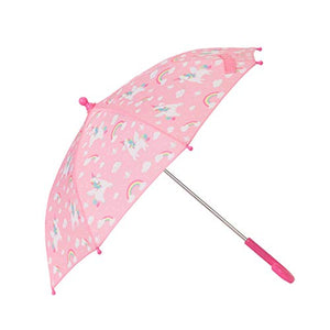 Sass & Belle Rainbow Unicorn Kids' Umbrella | Pink