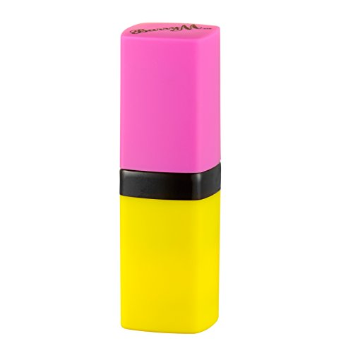 Barry M colour changing lip paint unicorn. Yellow turns your lips pink! Magical!