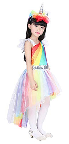 Kids Unicorn dress for cosplay