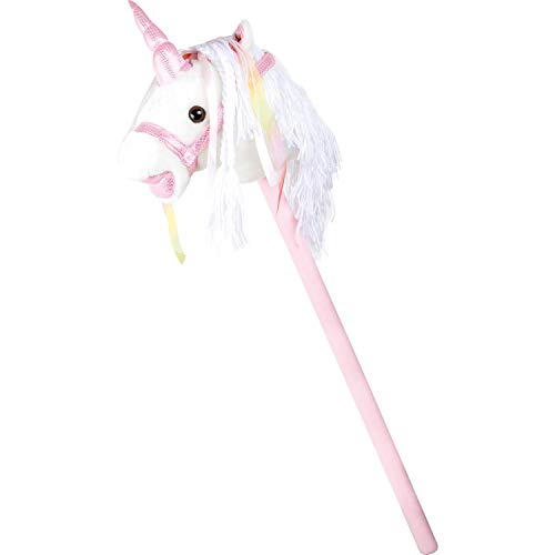 Legler White Unicorn Hobby Horse | Age 3 Years Upwards