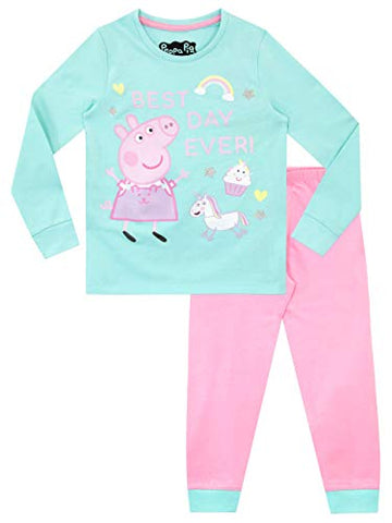 Peppa Pig Unicorn Pyjamas Pink