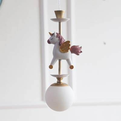 Unicorn Children's Light Chandelier