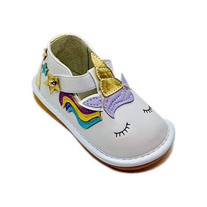 Mary Jane Unicorn Shoes Toddler Girls