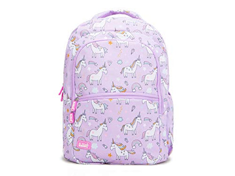 Lilac unicorn backpack kids