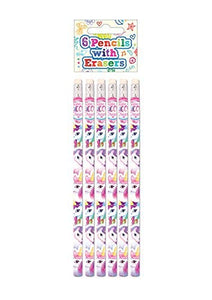 unicorn pencils for party bag