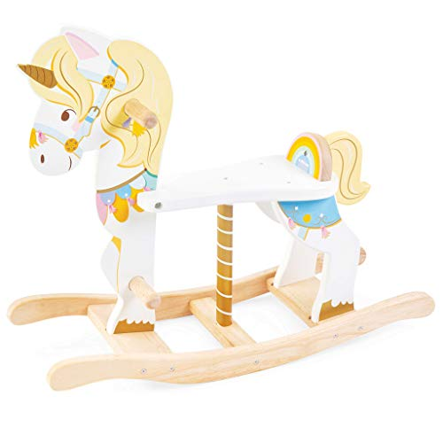 Unicorn Rocking Horse | Wooden | Pastel | Suitable For 1 Year Old + | Le Toy Van