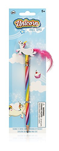 NPW Pencil Top Eraser Pencil Rubber - Unicorn Pencil Topper