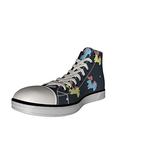 Unicorn black high top trainer shoe kids