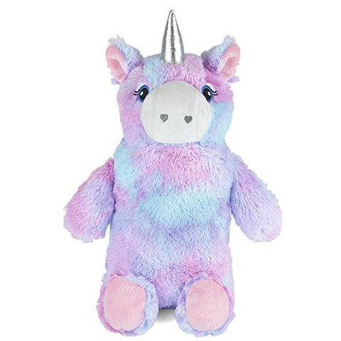Hot Water Bottle With Unicorn Plush Super Soft Cover
