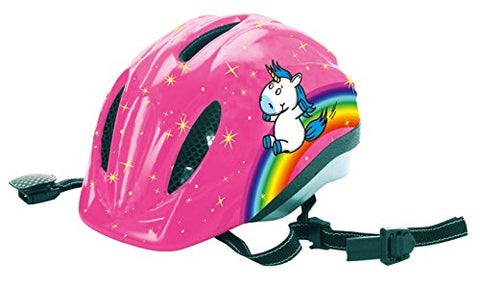 Unicorn Rainbow Crash Helmet For Girls