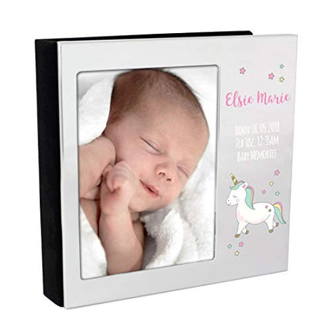 Personalised Unicorn Photo Album Baby Gift