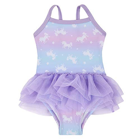Unicorn tutu girls lilac