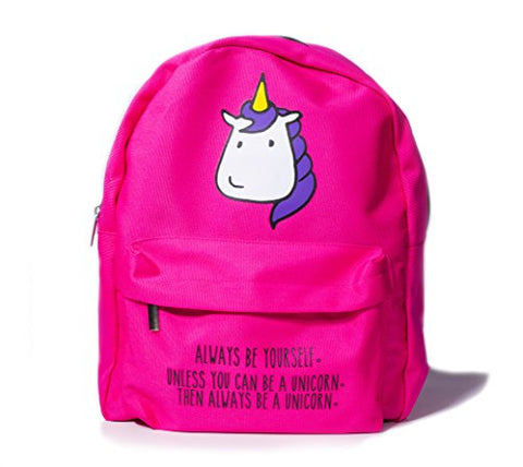 Bubblegum Cases Supercute Kawaii Backpack and Pencil Case Set for Women For Girls (Be a UNICORN)