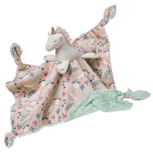 Floral Unicorn Baby Comforter