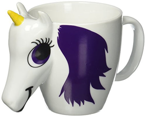 Cute Colour Changing Unicorn Mug, Multi-Colour