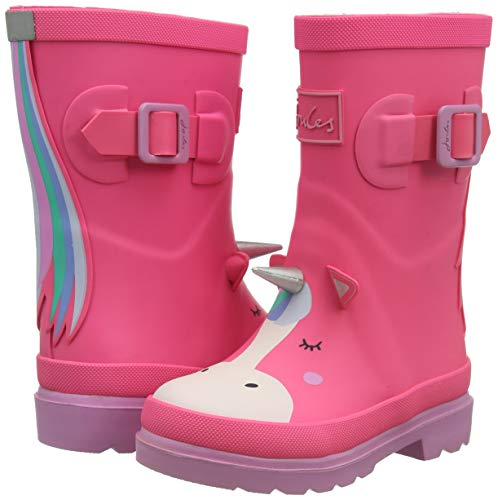 Joules Baby Girls Unicorn Wellie Boots